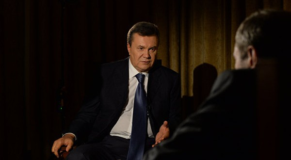 Ex-President of Ukraine Victor Yanukovych said the current Ukrainian government failed Ukrainians' trust