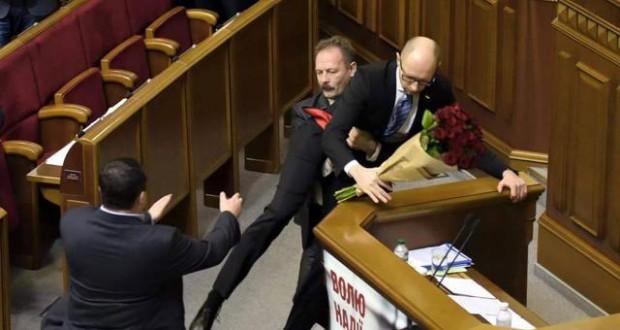 "Ukrainian MP Oleg Barna was expelled from his faction of ""Petro Poroshenko Block"" in the Verkhovna Rada"