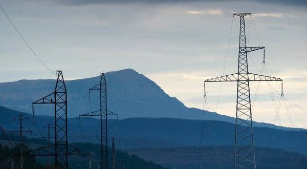 Breakdown on the power line caused rolling blackouts in Crimea