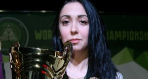 Ukrainian Mariya Pudovkina wins the World Billiard Cup 2015