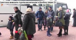 Meskhetian Turks flee war-torn Donbas