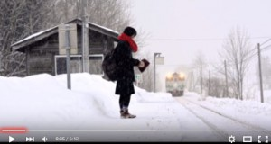 Japan rural railroad station works for just one high-school girl