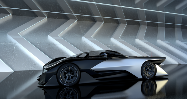 Faraday Future performed at CES 2016 with a revolutionary concept car