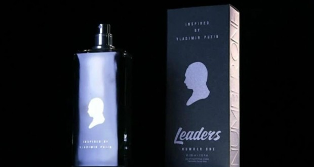 Moscow luxury store sales a perfume inspired by Vladimir Putin