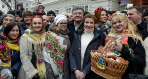 Ukrainian President and his family celebrated Christmas in Lviv