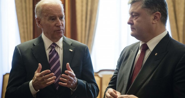Ukrainian President and U.S. Vice President emphasized the necessity of continuation of reforms in Ukraine