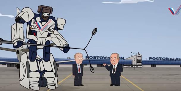 New hit of the Russian propaganda: Putin eliminates corrupt officials