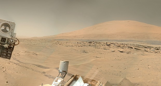 NASA released a 360 degree video tour on the surface of Mars