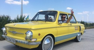 Ukrainian engineers upgraded iconic Zaporozhets to electric car