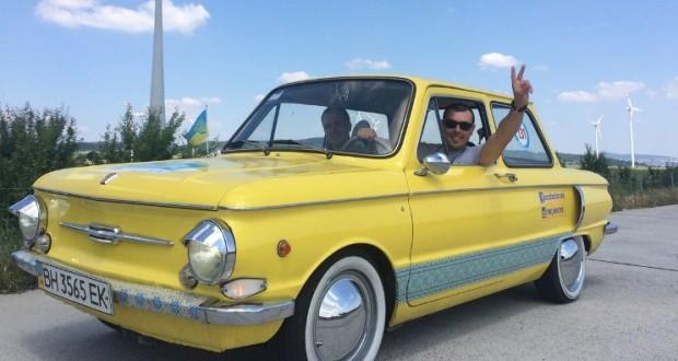 Ukrainian engineers upgraded iconic Zaporozhets to electric car