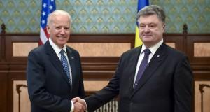 The U.S. Vice President Joe Biden commended Ukraine's President on decision to replace Prosecutor General of Ukraine