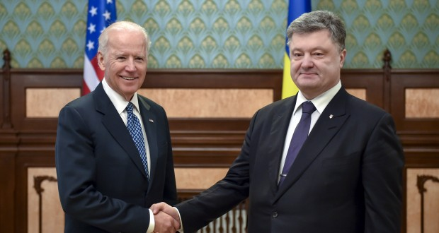 The U.S. Vice President Joe Biden commended Ukraine's President on decision to replace Prosecutor General of Ukraine