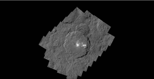 NASA shows marvelous sights on dwarf planet Ceres
