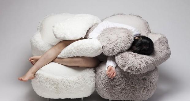 South Korean designer created a Free Hug Sofa