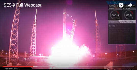 SpaceX failed to land Falcon 9 on drone ship