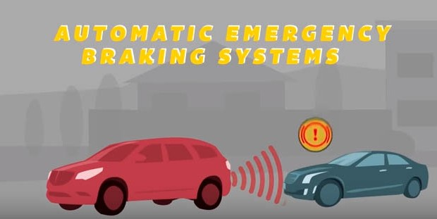 Automatic emergency braking will be standard in most US cars by 2022