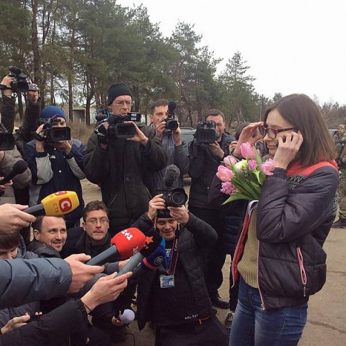 Ukrainian journalist Maria Varfolomeeva freed of militants' captivity