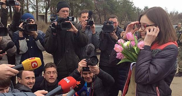 Ukrainian journalist Maria Varfolomeeva freed of militants' captivity
