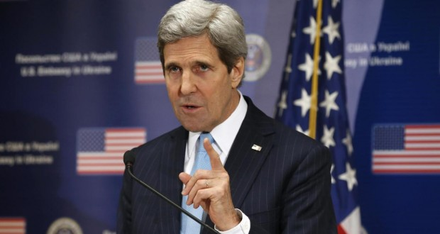 U.S. Secretary of State John Kerry calls on Russia to immediately free Nadiya Savchenko