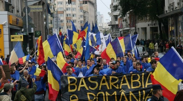 Moldova rallied for unification with Romania