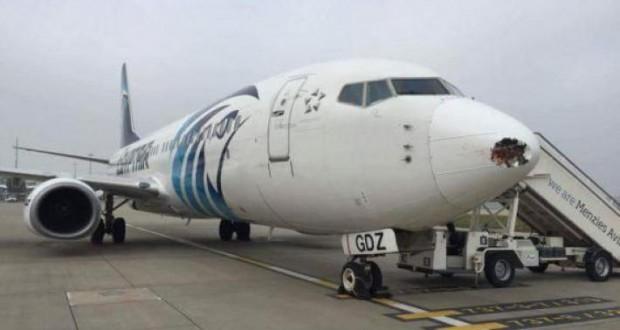 EgyptAir hijack: jet lands at Cyprus, most passenger freed