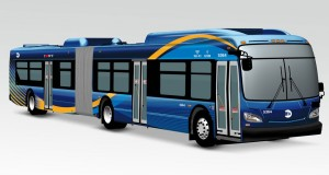 New York City replaces public buses with high-tech models with Wi-Fi and USB charging ports