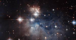 Hubble shows a young star's fingerprint