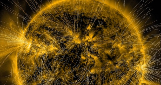 Scientists created Sun's magnetic map