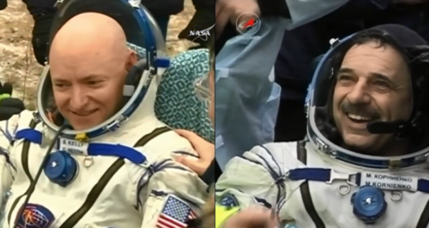 NASA astronaut Scott Kelly landed safely after one-year mission