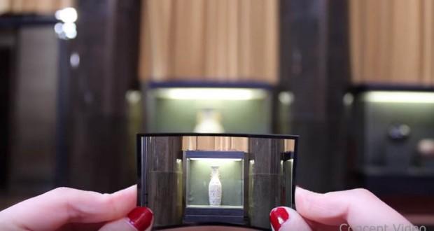 Researchers created flexible camera