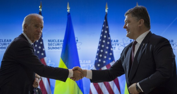 President of Ukraine met with U.S. Vice President: formation of a new Ukraine's government necessary for $1 bln loan