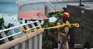 Elevated bicycle track collapsed in Rio de Janeiro, killing two people
