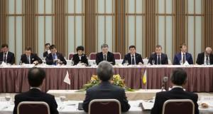 Ukrainian President urged Japanese business to invest in Ukraine