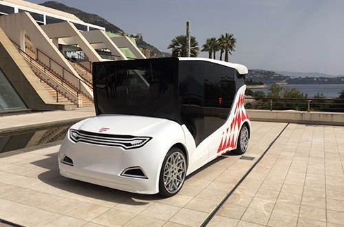 First Ukrainian electric car prototype to be presented in Europe