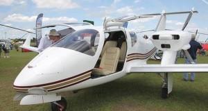 Ukraine presented experimental four-seat plane at SUN 'n FUN Expo