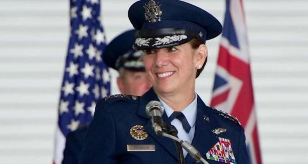 First woman leads US military combatant command