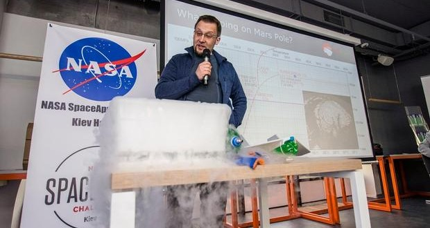 Ukraine's MarsHopper tops People's Choice of NASA SpaceApps Challenge 2016. Voting closes soon