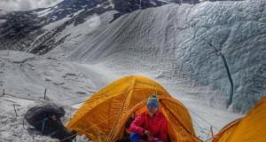 First Ukrainian climber on Everest top