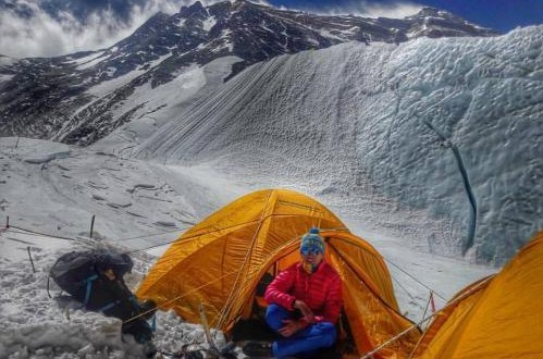 First Ukrainian climber on Everest top