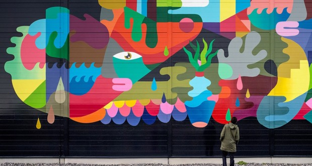 Striking murals turn Google data centers into pieces of art
