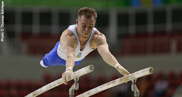 Ukrainian gymnasts won five gold medals at Varna World Challenge Cup