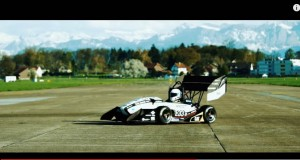 Swiss students built the fastest-accelerating electric car in the world