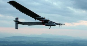 Solar plane sets down in New York as round the world trip continues