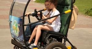 Ukrainian inventor builds unique DIY electric car