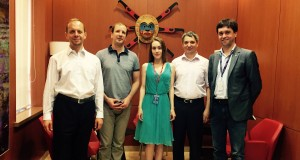 Representatives of the Commercial Section of the Embassy of Canada to Ukraine meet with UkraineIs leaders