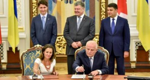 Justin Trudeau in Ukraine, Canada-Ukraine Free Trade Agreement signed, Canadore College, NAU and UkraineIs start cooperation: photo report