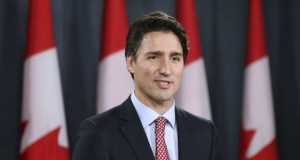 Canada PM Justin Trudeau arrives in Ukraine