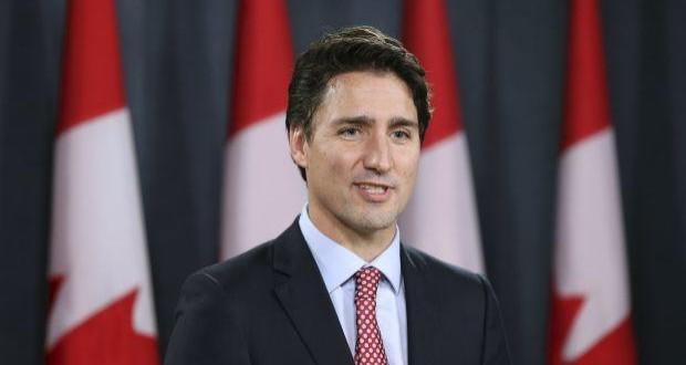 Canada PM Justin Trudeau arrives in Ukraine