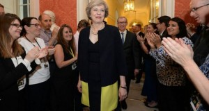 Theresa May becomes new UK prime minister