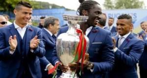 Portugal celebrates victory in Euro 2016